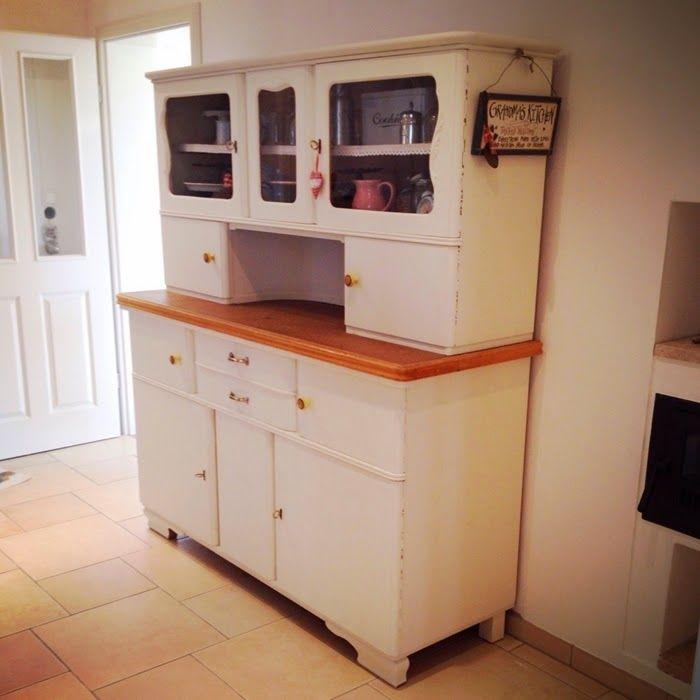 Küchenbuffet DIY - aus alt mach neu | Küchenbuffet, Cremeweiß und ...