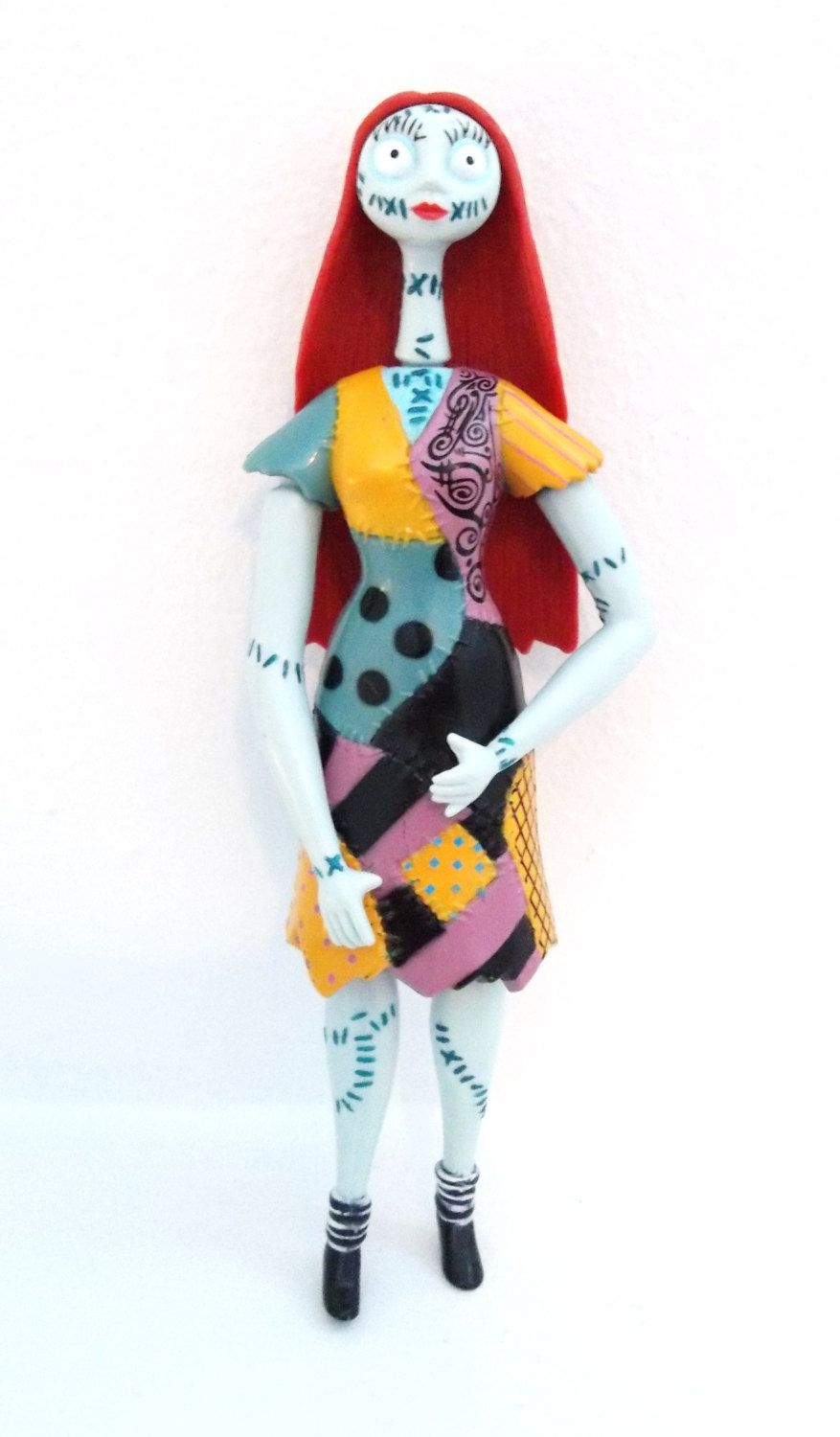 Tim Burton\'s Nightmare Before Christmas Sally Doll Figure - Vintage ...