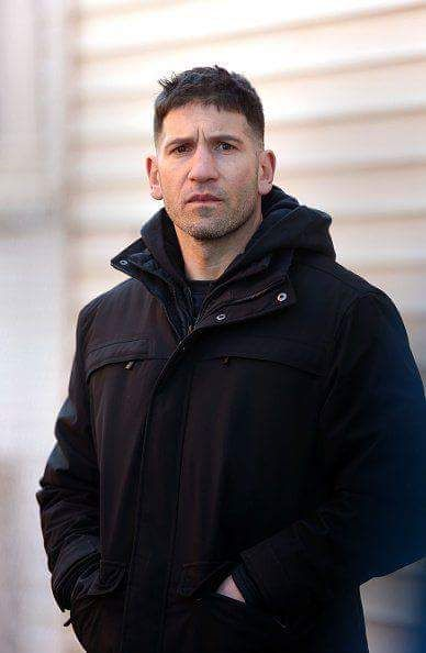 Jon Bernthal on the set - The Punisher series