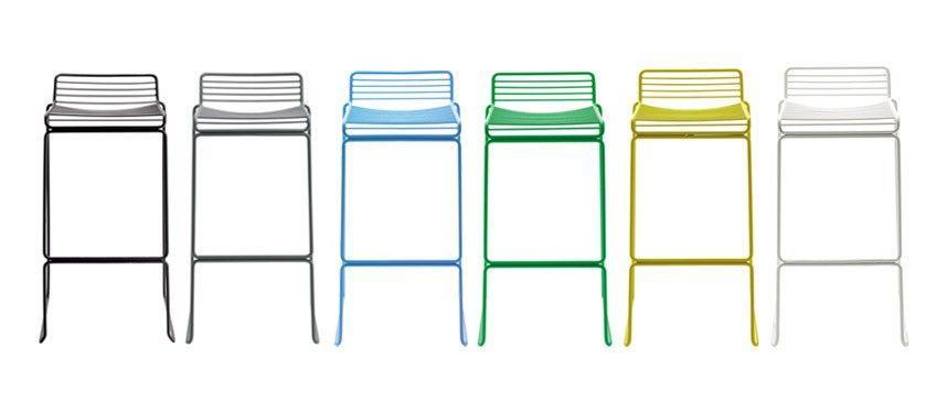 Hay Hocker taburete apilable hee bar stool de hay ideal para cocinas bares