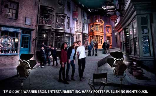 Visit Warner bros. studio tour London 'the making of Harry Potter'