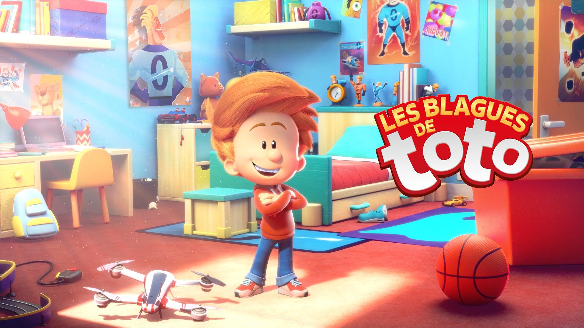 Les Blagues De Toto Superprod Animation Blague De Toto Blague Animation