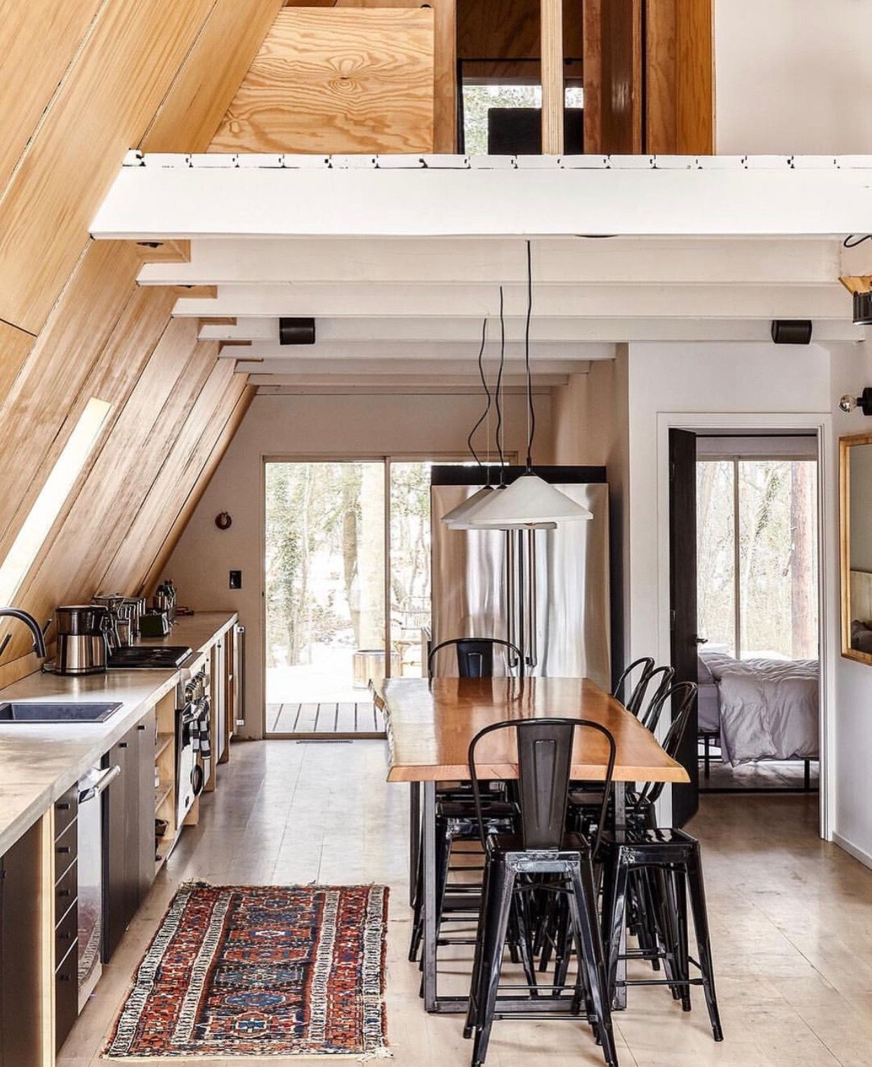 A Frame Tiny Spaces In 2018 Pinterest Maison Maison Bois And