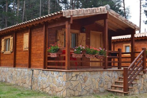 Terraza Cabaña Buscar Con Google Architecture Wooden