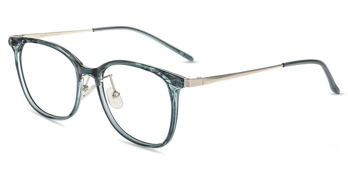 7548b57c54a Unisex full frame mixed material eyeglasses in 2019