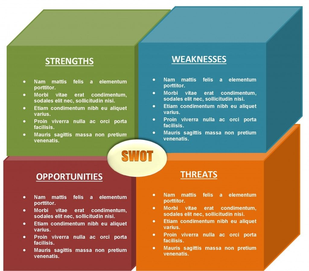 Free Swot Template 16  Free Swot Template