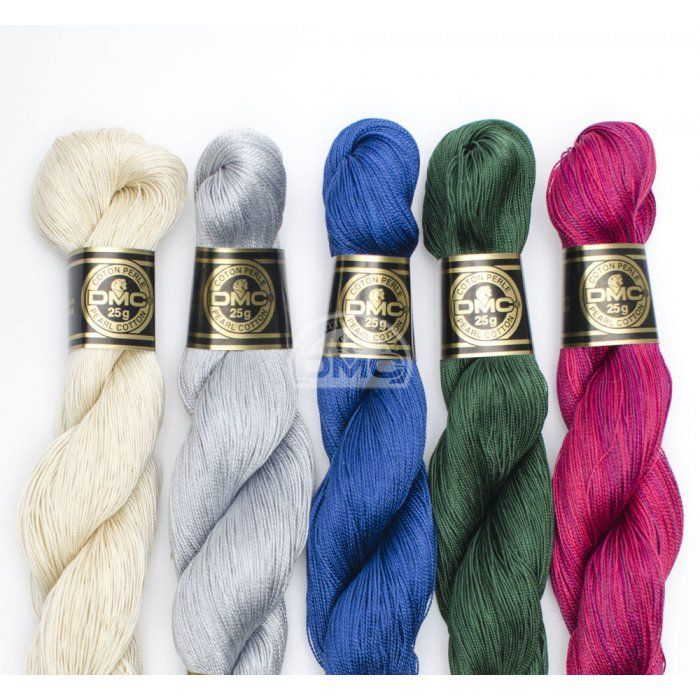 Madeja algodón Perlé grosor 12 115EA GROSSEUR 12 | ACCESSORIES ...