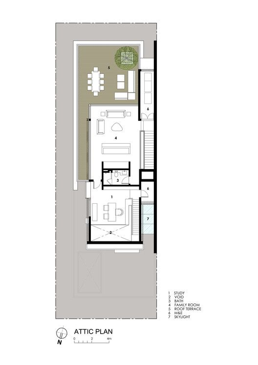 Gallery Of Far Sight House Wallflower Architecture Design 20 Narrow House Plans Attic Design House Plans