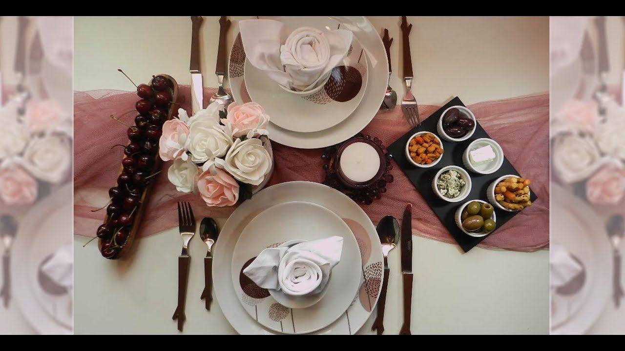 كيفية ترتيب طاولة الطعام طريقة تنسيق طاولة الطعام Table Settings Table Settings