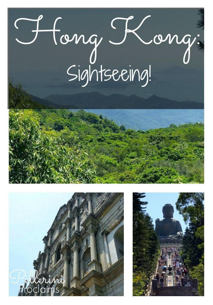 Hong Kong Travel: I wish we had more time in Hong Kong because there is so much to see and do! We visited a few churches, ruins, a fort and an amazing buddha!