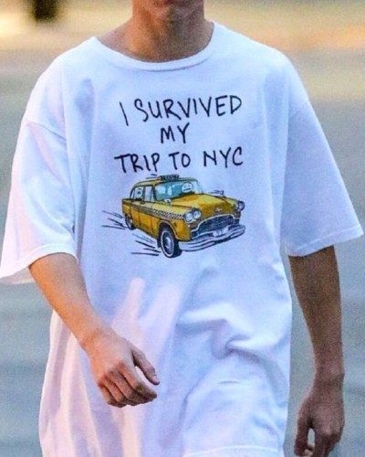 i survived my trip to nyc t shirt spider man homecoming Tom Holland tee  shirts 89ef1469a23