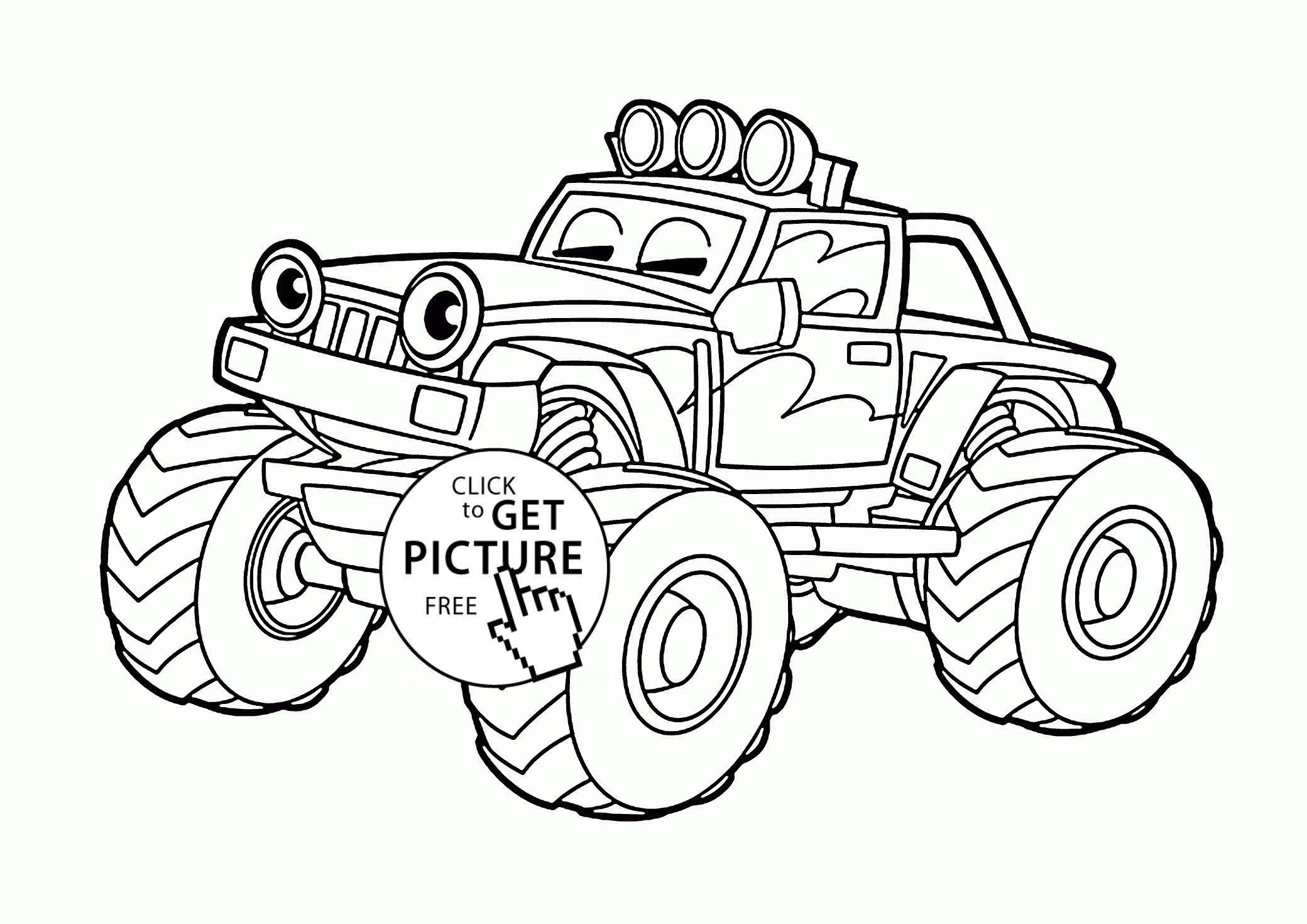 66 awesome image of blaze coloring sheets