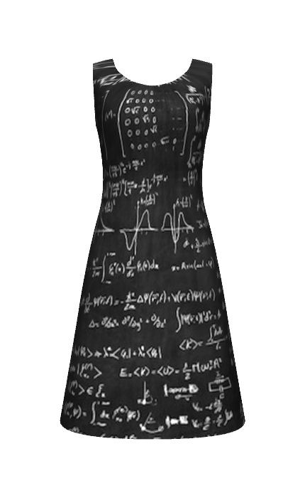 Math Designed At Constrvct Com Science Fashion Fashion Math Dress
