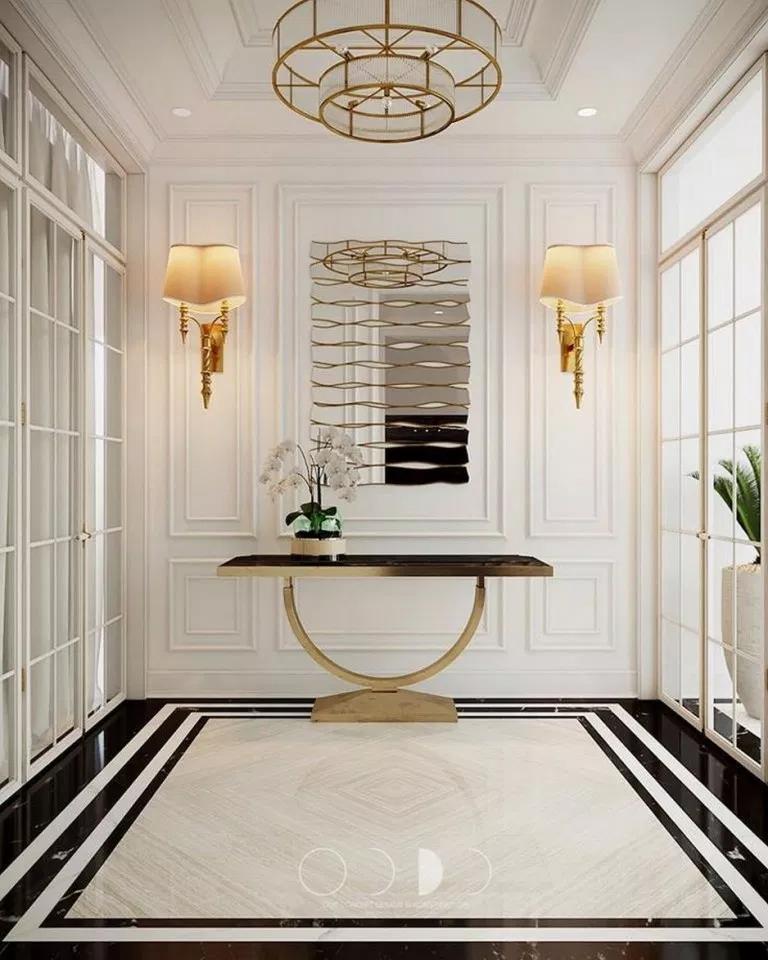 Pin By جابر الغزواني On House Design Marble Flooring Design Foyer Design Floor Design