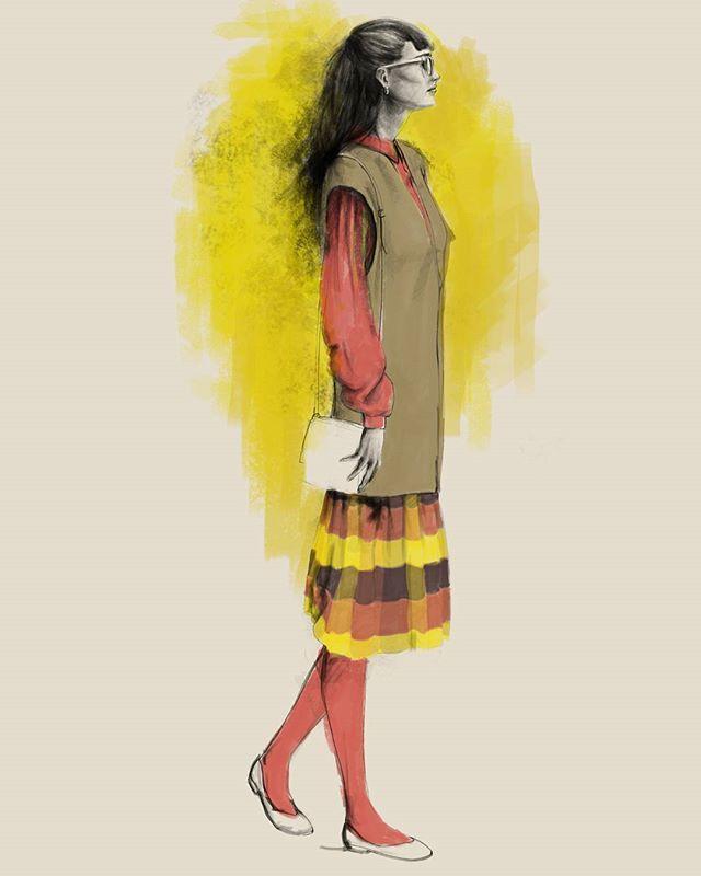 La moda de betty la fea . ugly betty fashion (original version) Illustration