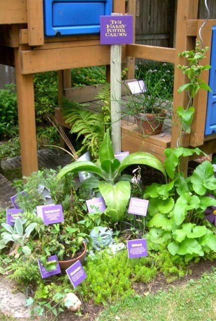 A Harry Potter Garden Found In A Lancaster Avenue Garden On Garden Walk Buffalo Garden Bloggers Garden Avenue Garden