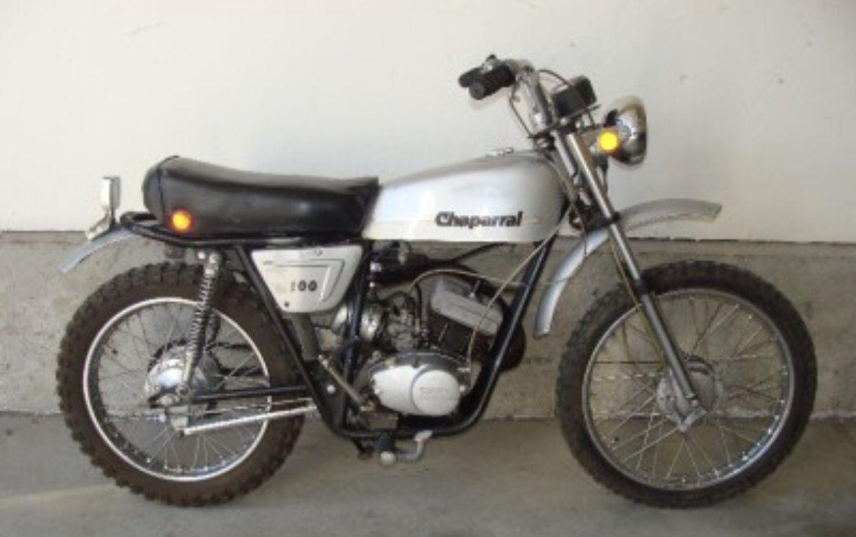 1973 Chaparral T100 In 2020 Motorcycle Bike Dirt Bikes