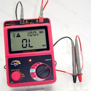 Insulation Resistance Tester 2500v 50gw Insulation Tester Electrical Appliances