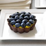Chocolate Tarts with Lemon Curd Recipe