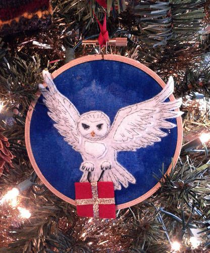 Hedwig Ornament By Luckdragon On Craftster Harry Potter Holiday