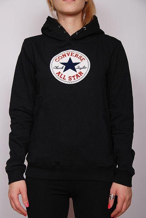 Girlz Converse - junior all star logo hoodie black (113KBB-507 ... c3ee3585e7537