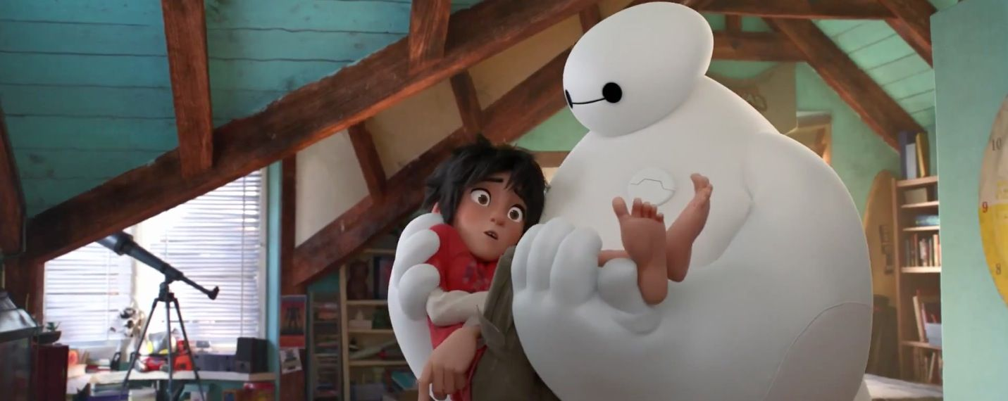 Disney presents the new international trailer for Big Hero 6, featuring some previously unseen shots including Baymax in action http://www.dailymotion.com/