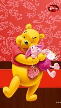 Cartoon Winnie The Pooh Mobile Wallpaper | Winnie the pooh ...