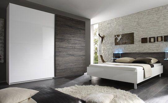 Belo/wenge dekor. Krevet: za dušek i podnicu dimenzije 180×200 cm ...