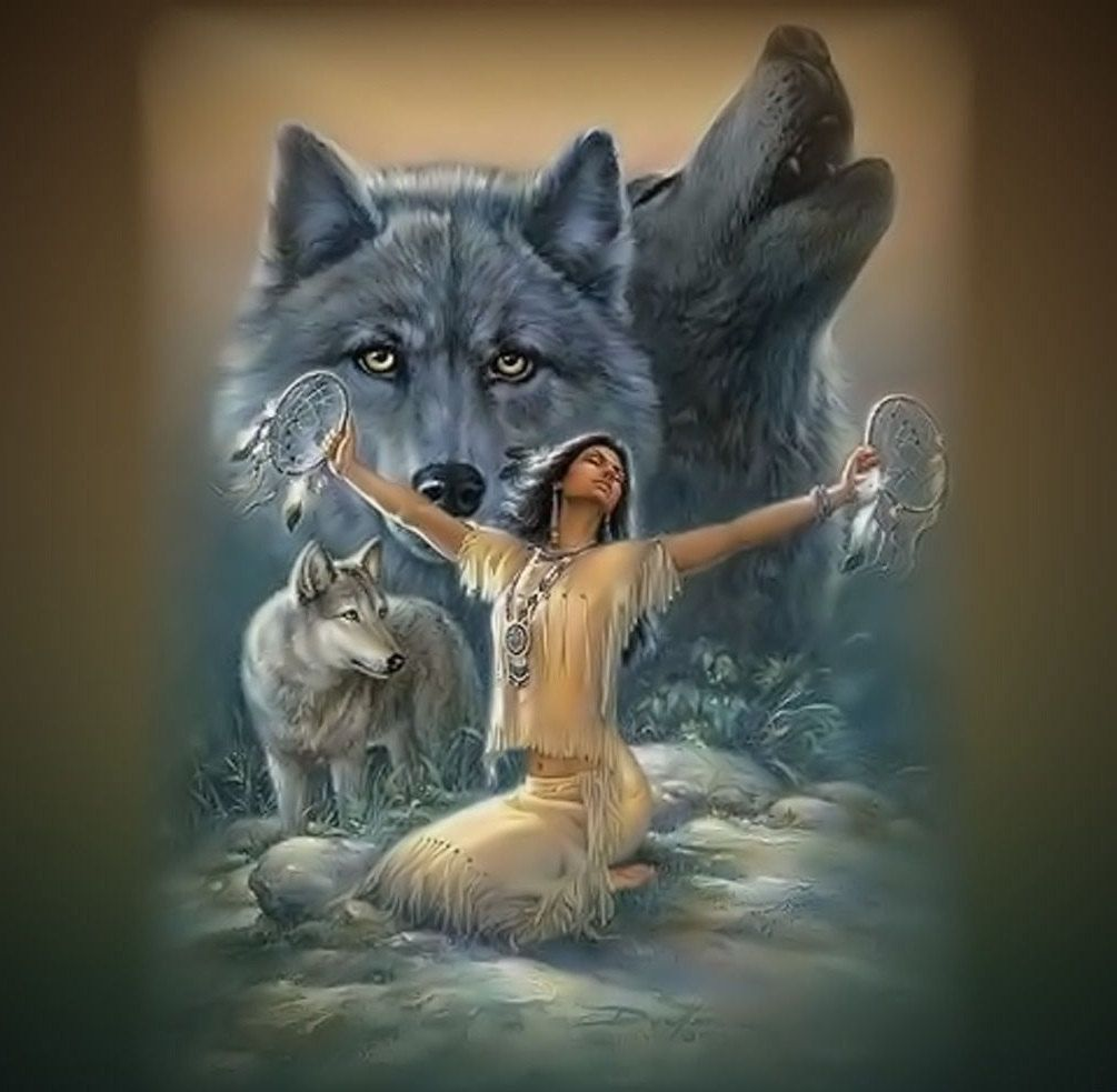 Native american wall murals wall murals ideas indian wolf rv trailer or wall mural decal decals graphics sticker amipublicfo Choice Image