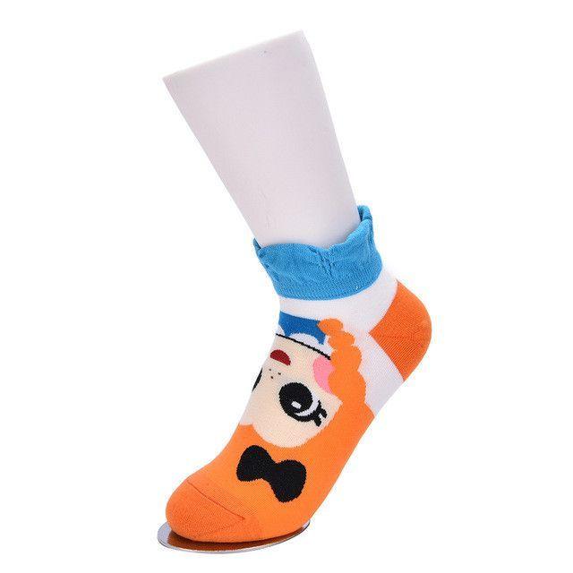 Hot Womens Princess Cute Cartoon Girls Cotton Ankle Socks Low Cut Socks