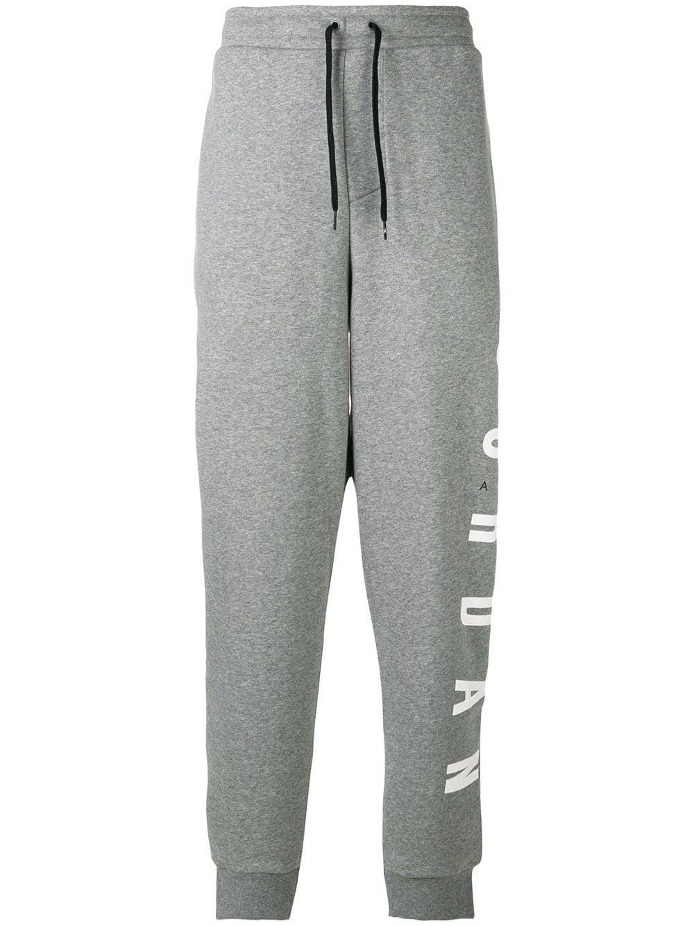 f44446bb26b NIKE NIKE JORDAN JUMPMAN AIR TRACK PANTS - GREY. #nike #cloth   Nike ...