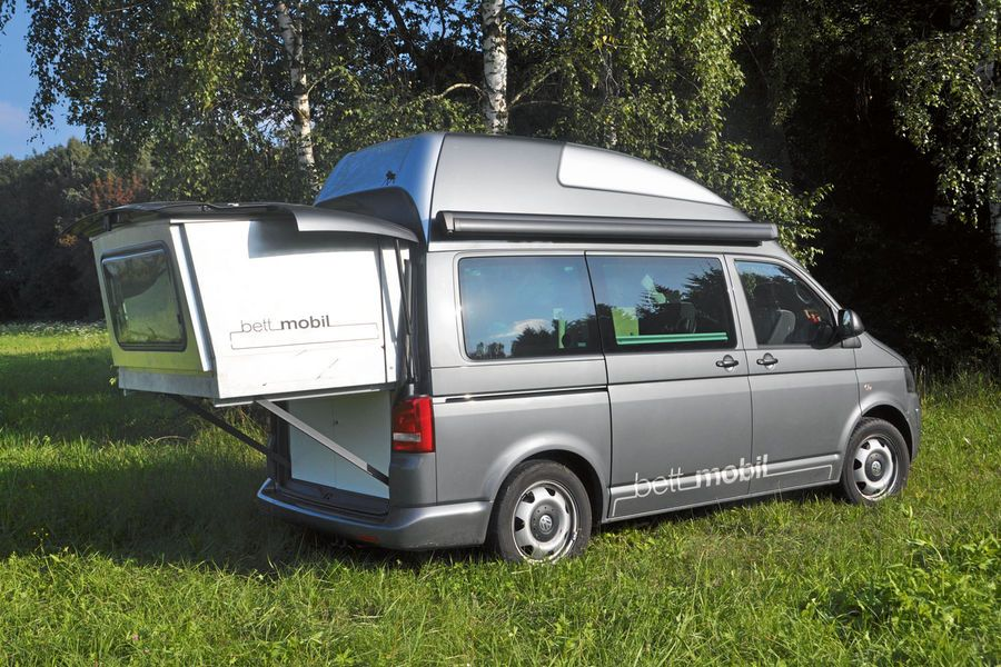 BettMobil 3 Roger's Dream Camper VWBus Bulli INNEN