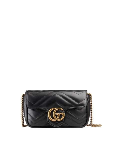 GG Marmont Matelassé Leather Super Mini Bag by Gucci at Neiman Marcus 8f3baa9db0a9b