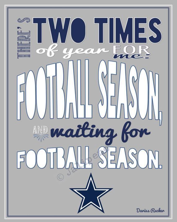 Dallas Cowboys Quotes Inspiration Dallas Cowboys Football Season Darius Rucker Quote  In Honor Of