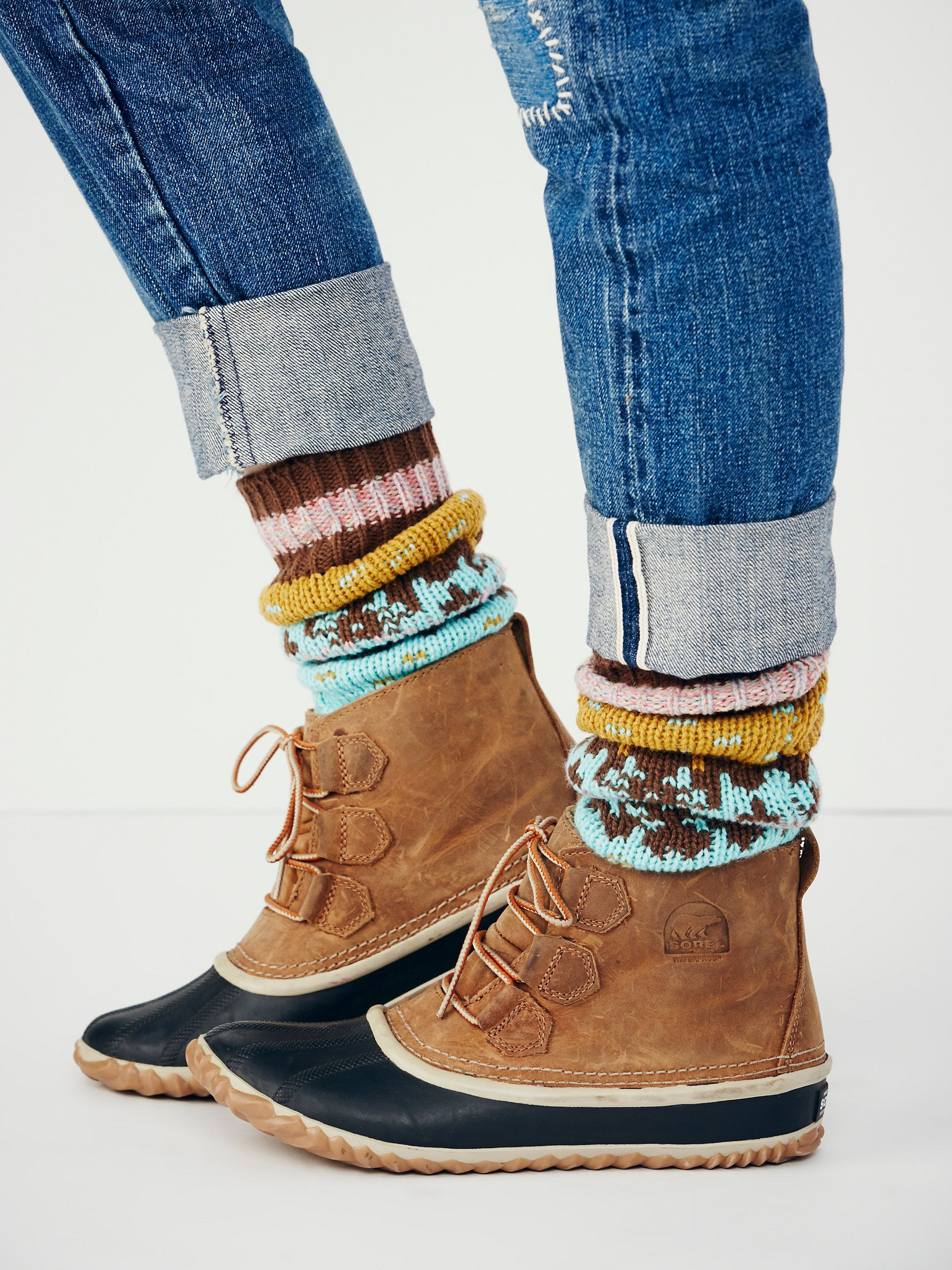 Sorel boots outfit
