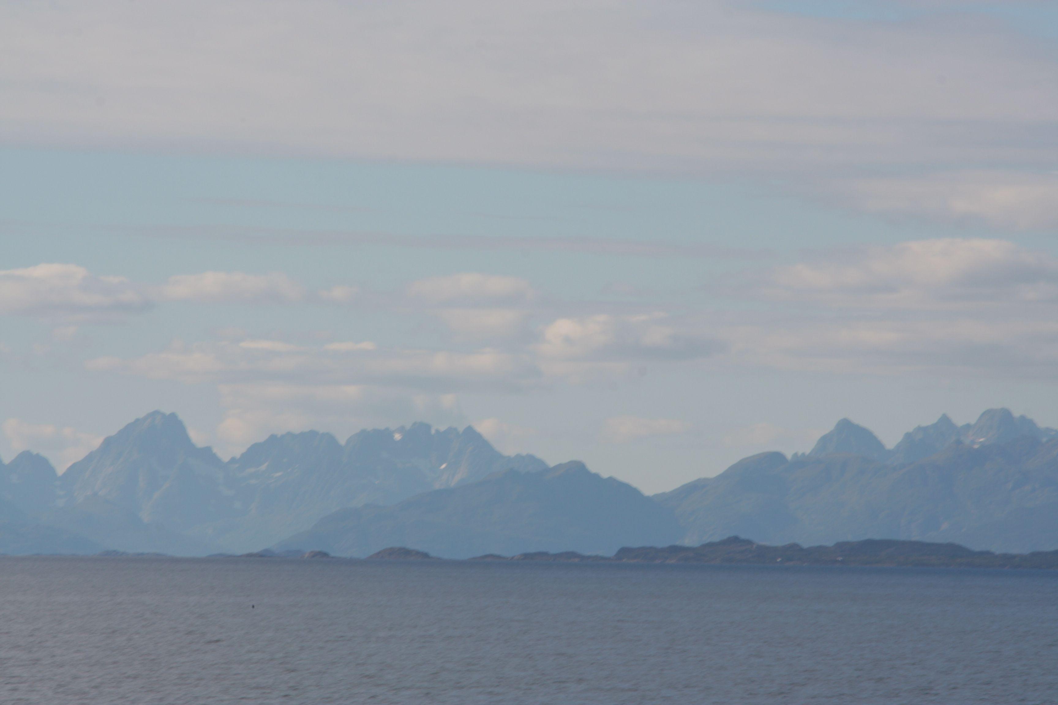 Norwegian mountains...