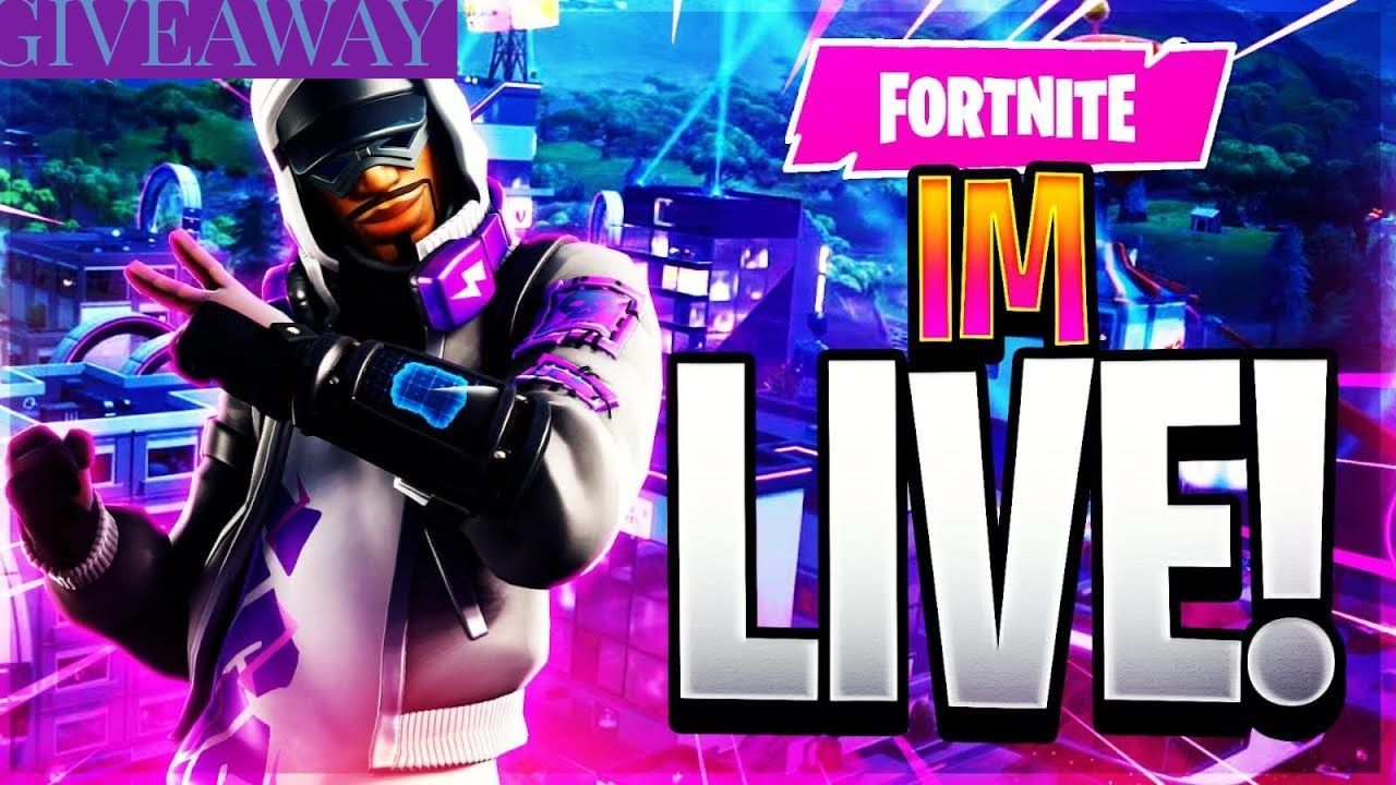 Fortnite Live Giveaway Playing With Subs In 2020 Gamer Pics Fortnite Fortnite Thumbnail They usually occur in the middle, near the end, or even the very end of a season. fortnite live giveaway playing with