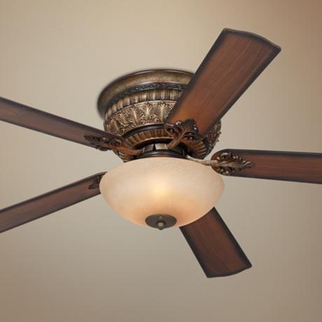 La Rocca Hugger Iron Patina Ceiling Fan Y5022 13722 Lampsplus