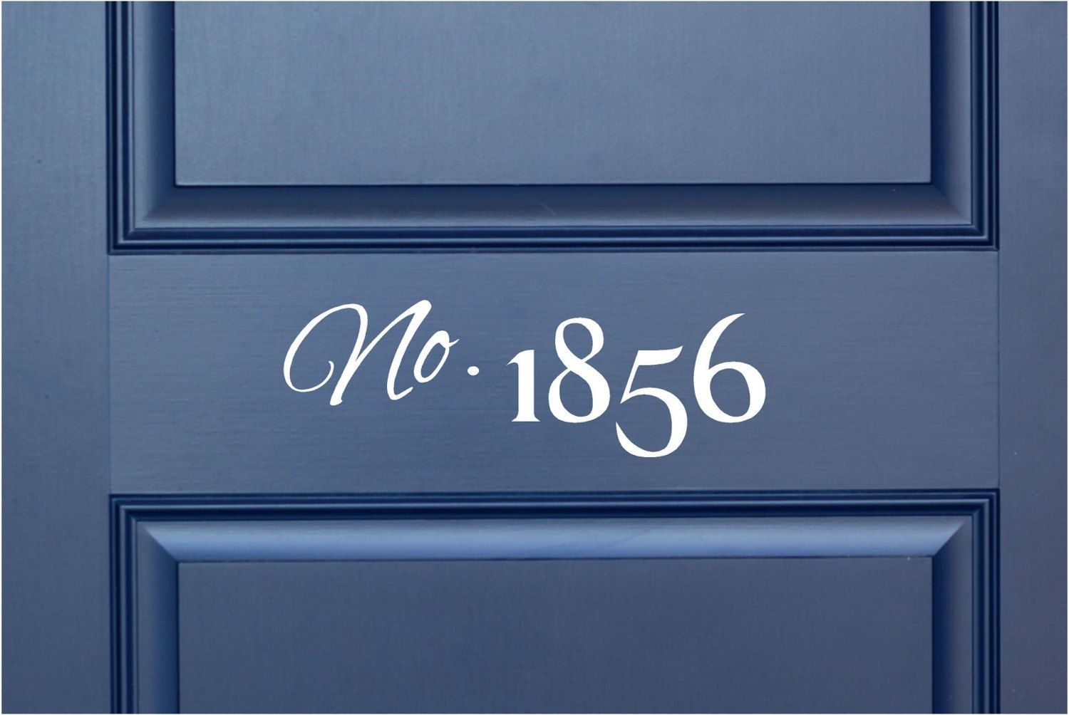 House Number Vinyl Lettering Word Door Or Wall Art Home Decal - Custom vinyl decals numbers