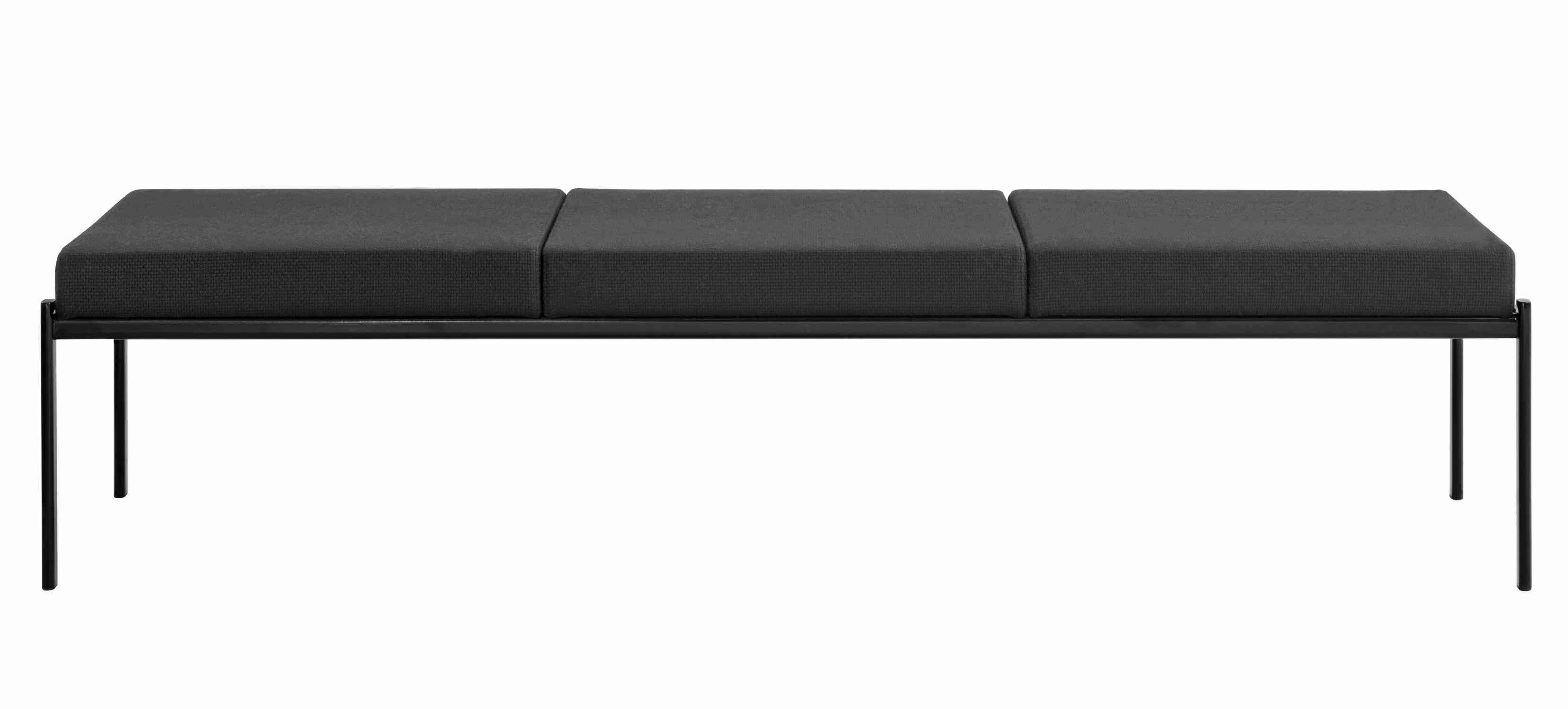 Contemporary upholstered bench / Scandinavian design KIKI by ...