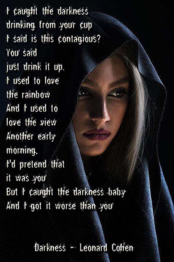 Darkness - Leonard Cohen -8094