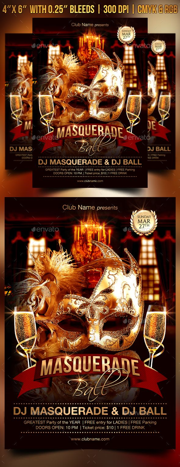 masquerade flyer template free aildoc productoseb co