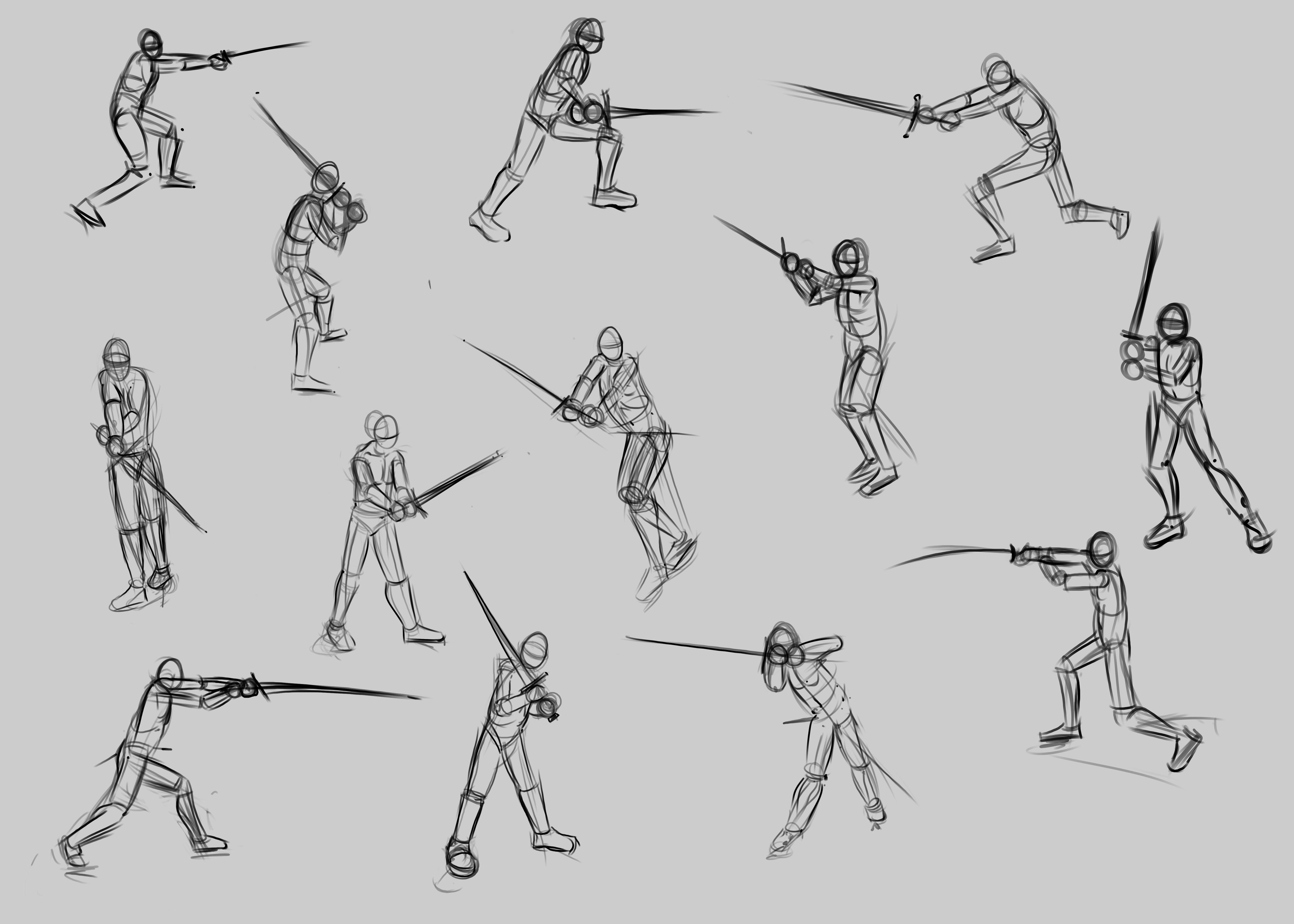багажник позы сражения на мечах картинки картинки