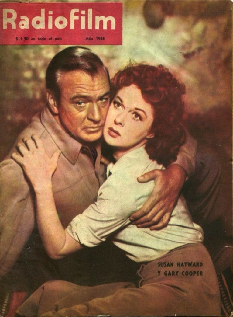 Gary Cooper and Susan Hayward publicity still for \