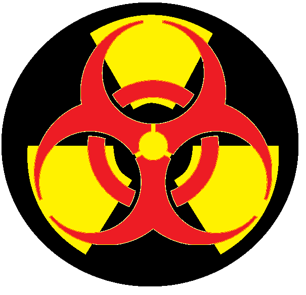 Mock Up Of A Combined Nuclearbiohazard Symbol Inkspiration