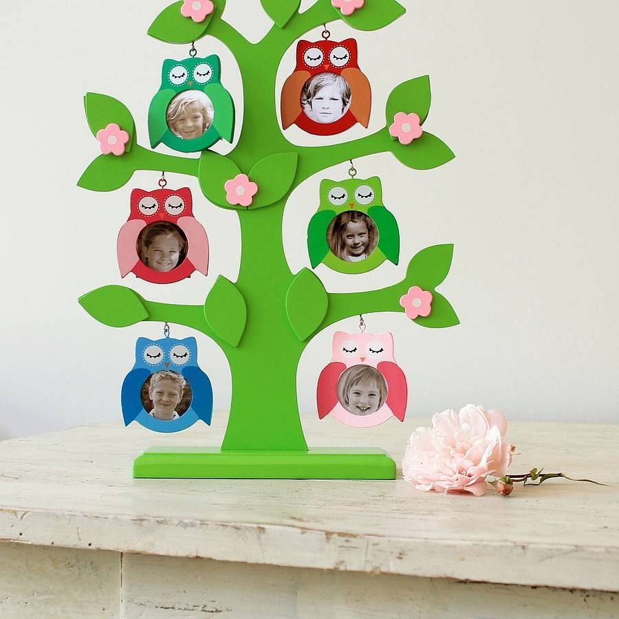 Family tree for kids project kids art craft family