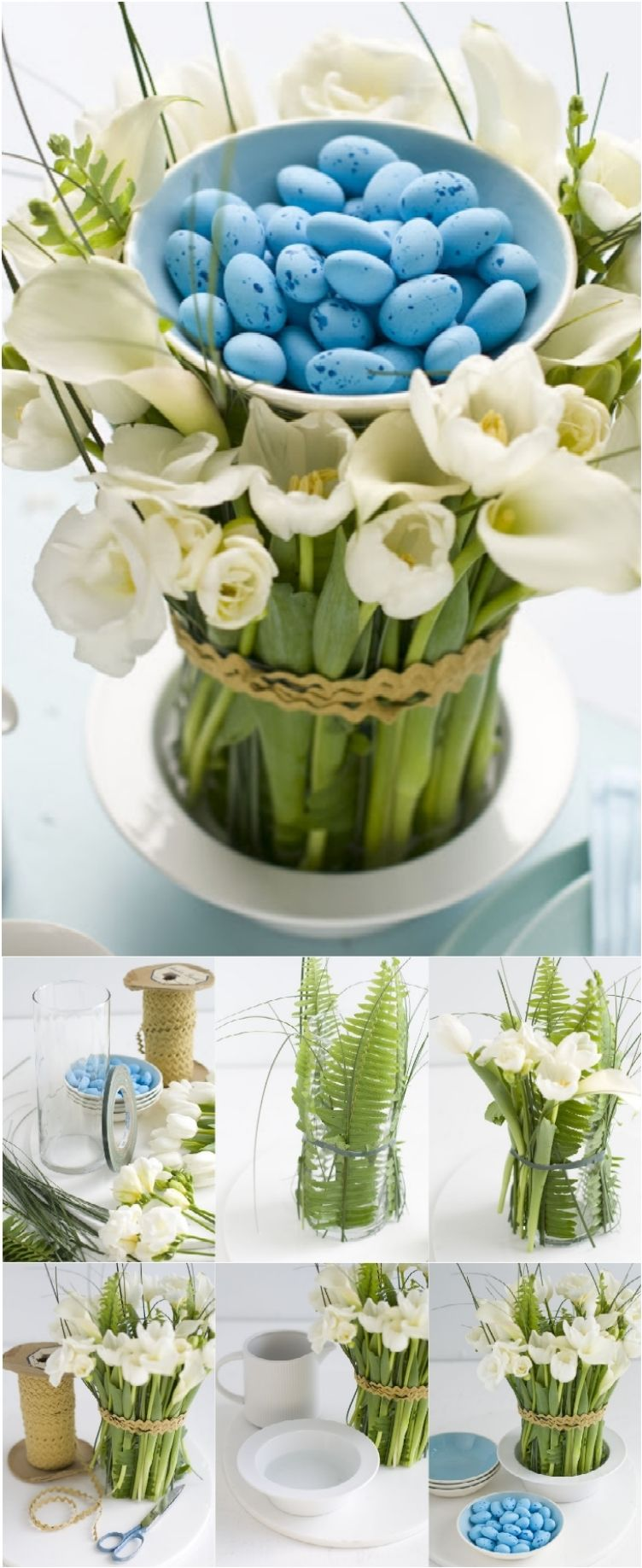 18 diy easter centerpieces to adorn your table with