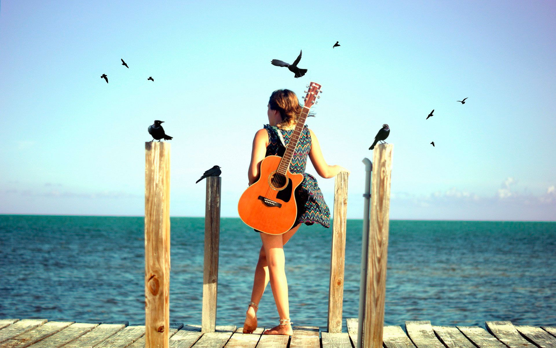 Гитара и ветер картинки