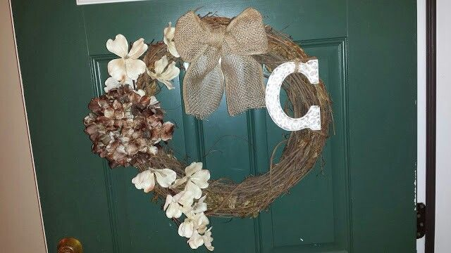 First wreath