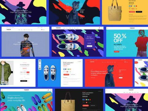 UI8 — Products — Multicolor UI Kit
